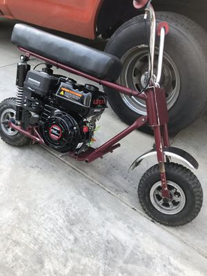 Minibike runs good new loncin 6.5 $300 for Sale in Whittier, CA
