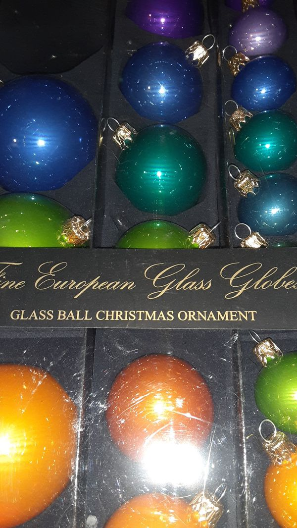 European glass globes