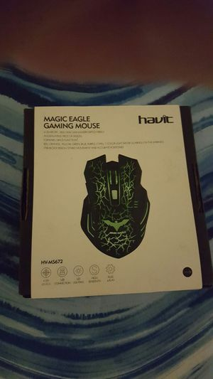 Havoc Golden Eagle gaming mouse for Sale in Columbia, TN