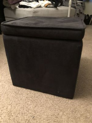 Black Storage Ottoman for Sale in Benicia, CA