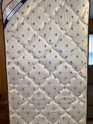 Twin mattress, box spring, headboard, bed frame, & hardware for Sale in Suffolk, VA