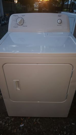 NEWER WHIRLPOOL ROPER ELECTRIC DRYER for Sale in Grove City, OH