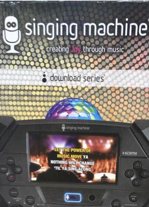 Fiesta Voice singing machin FIESTA VOICE Digital w/ disco light Digital download series like NEW . PBG for Sale in Riviera Beach, FL