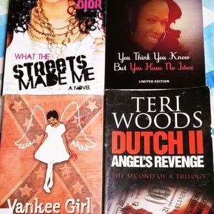 Set Of 4 Drama Thrilling Novels for Sale in Philadelphia, PA