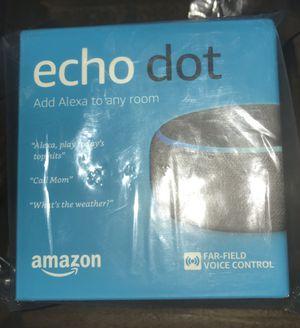 """3rd generation echo dot """"Alexa"""" for Sale in Longwood, FL"""