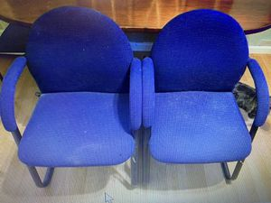 Beautiful office chairs matching Q for $15 no shipping for Sale in Lincoln, CA