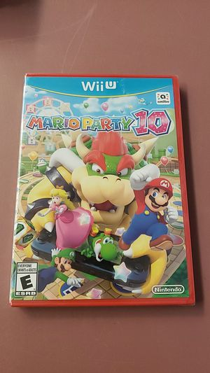Mario party 10 wii u brand new for Sale in Tampa, FL