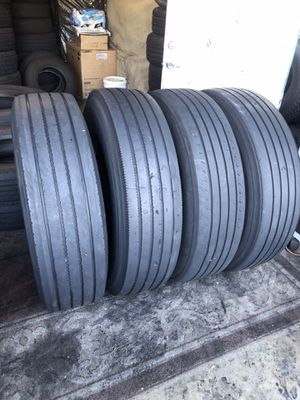 295/75/22.5 trailer tires for Sale in Jurupa Valley, CA