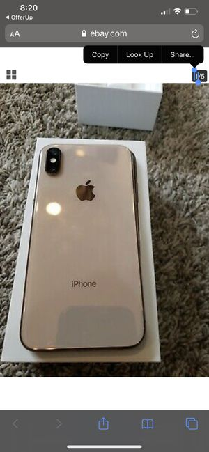 Iphone 10 x max 256g for Sale in Downey, CA