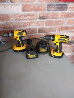 Dewalt drills with charger for Sale in Brownsville, TX