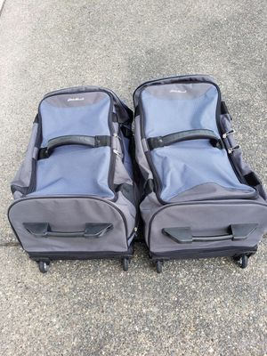 Two Eddie Bauer Collapsable Suitcases Luggage for Sale in Bonney Lake, WA
