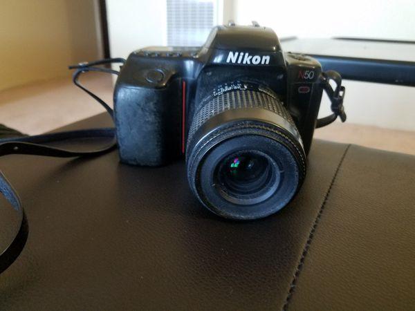 Nikon n50 film camera