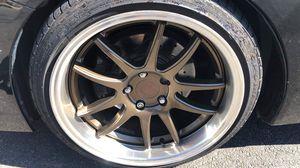 Aodhan wheels 5x114.3 18x9.5 for Sale in Alexandria, VA