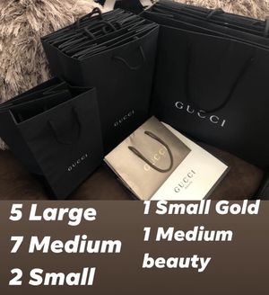 Gucci shopping bags empty for Sale in Kyle, TX
