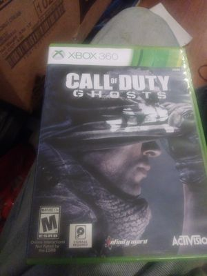 XBOX 360 CALL OF DUTY GAME DISC ONE & DISC TWO for Sale in Columbus, OH
