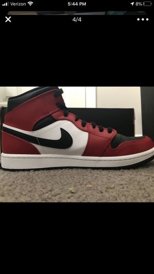 Air jordan mid 1 , size - 10.5 pick up only for Sale in Deer Park, TX