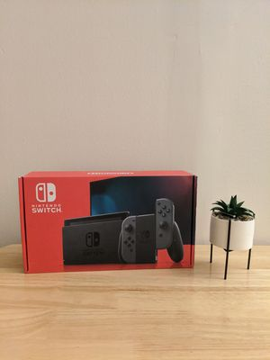 Nintendo Switch with Gray Joy-Con Console NEW for Sale in Cliffside Park, NJ