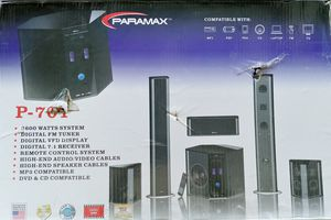 Paramax P701 Stereo system. Never been used still in the boxes. for Sale in Antioch, CA