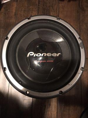 Pioneer championship series 12inch for Sale in Stockton, CA