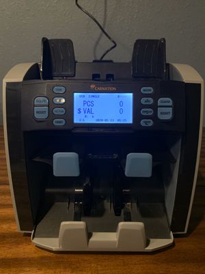 High Speed Cash Counter - Carnation CR1500 for Sale in Phoenix, AZ