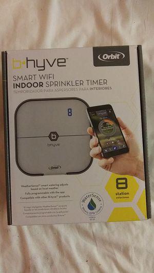 Orbit B-Hyve 8 station wifi sprinkler timer for Sale in Ontario, CA