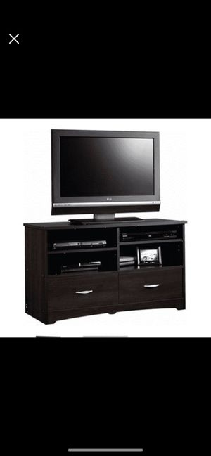 """Sauder Beginnings TV Stand for TVs up to 46"""", Cinnamon Cherry Finish for Sale in St. Louis, MO"""