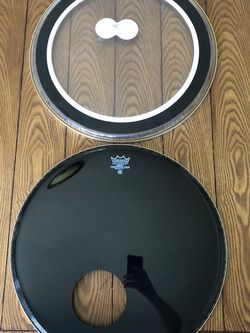 Aquarian / Remo Bass Drum Head Set for Sale in Anaheim,  CA