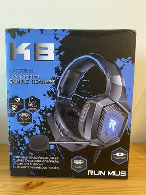 Gaming Headset for all systems, Xbox/PS4/PC/Nintendoswitch for Sale in Strongsville, OH