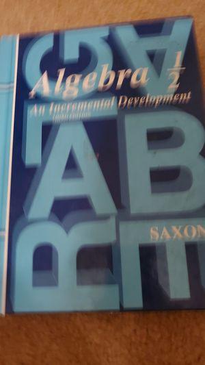 Algebra ½ for Sale in Lincoln, CA