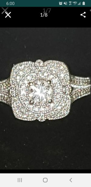 Over 1.50 cttw diamond and 14kt gold ring! for Sale in Rancho Cucamonga, CA