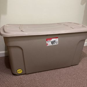 STORAGE BIN/ CONTAINER, 50 Gallons W/ Wheels for Sale in Woodbridge, VA
