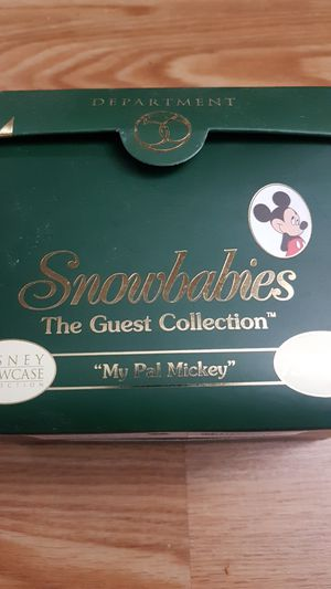 Snowbabies, the guest collection My Pal Mickey for Sale in Cromwell, CT