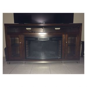 "Electric Fireplace TV Stand for TVs up to 65"" with Fireplace for Sale in Glendale, AZ"
