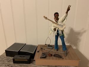 McFarlane Toys 2003 Jimi Hendrix Woodstock 1969 Concert Action figure for Sale in Vancouver, WA