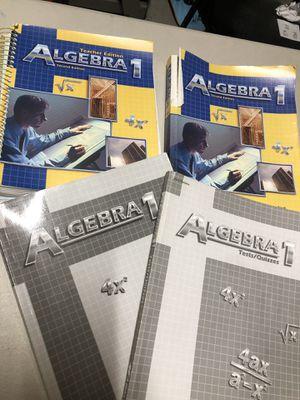 Abeka - Algebra I for Sale in El Cajon, CA