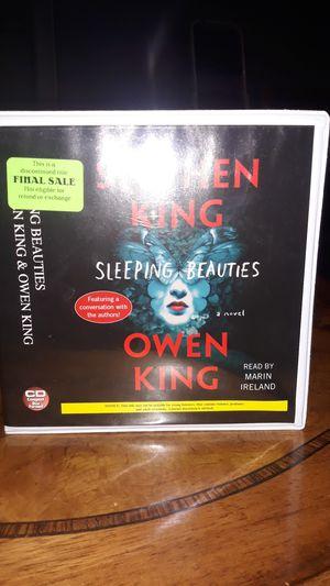 Stephen Kings Sleeping Beauties 21 disc audio CDs for Sale in Wichita, KS