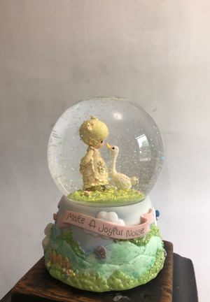 Precious moments 25th yr collectors figurine (1978-2003) snow globe for Sale in Wilmington, DE