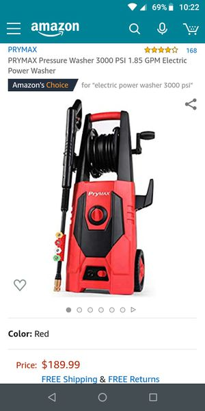 Electric pressure washer for Sale in Bakersfield, CA