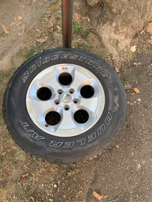 Jeep Wrangler wheels and tires for Sale in Queens, NY
