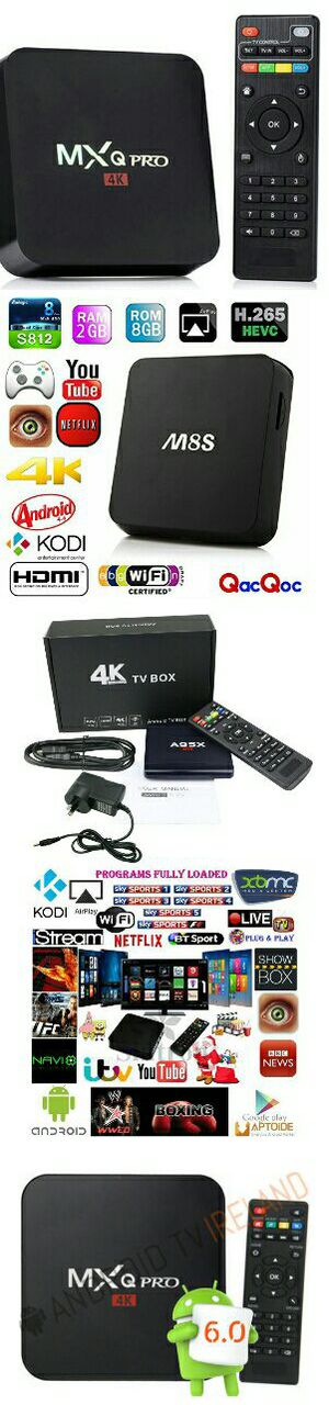 Android TV Box 4K Fully Programmed with Kodi 17.6 Firestick Fire Tv Stick Killer!! No More Cable Bills!! for Sale in Las Vegas, NV