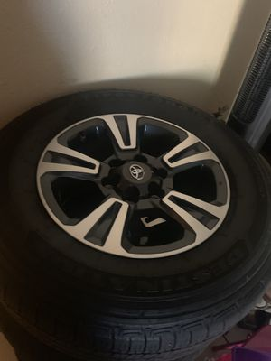 2019 trd sport rims and tires for Sale in Lemon Grove, CA