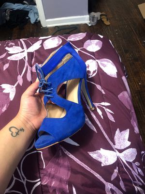 Blue heels for Sale in Dallas, TX
