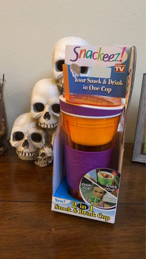 Brand new snackeez cup for Sale in Rancho Cucamonga, CA