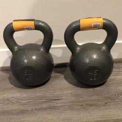 Brand new CAP Cast Iron Kettlebells (45 lb, 50 Lb) - price in details for Sale in Arlington,  VA
