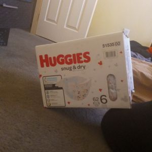 Brand New Unopened Box Of Diapers for Sale in Las Vegas, NV