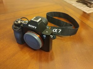 Sony a7 full frame digital camera with 28-70mm lens for Sale in Winterville, NC