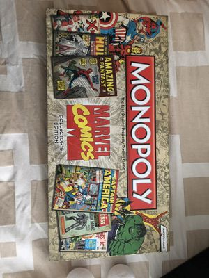 Marvel Comics Monopoly Game for Sale in Washington, DC