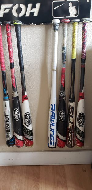 Bbcor baseball bats 32, 33 inch for Sale in Apple Valley, CA