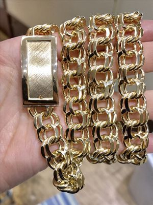 10 karat gold chino link chain custom made 150g ( item # M150) for Sale in Houston, TX
