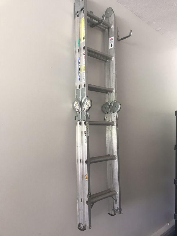 6 foot commercial grade multi position ladder
